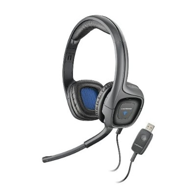 Plantronics AUDIO655 Audio 655 USB Multimedia Headset with Noise Canceling Microphone for PC and Mac