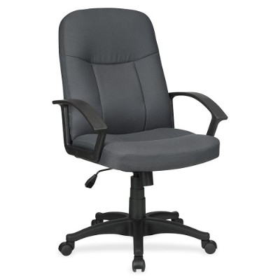 Lorell 84554 Executive Fabric Mid-back Chair 40399495