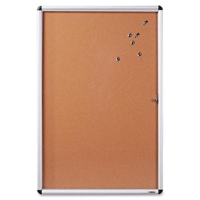 Lorell 42707 Enclosed Cork Bulletin Board
