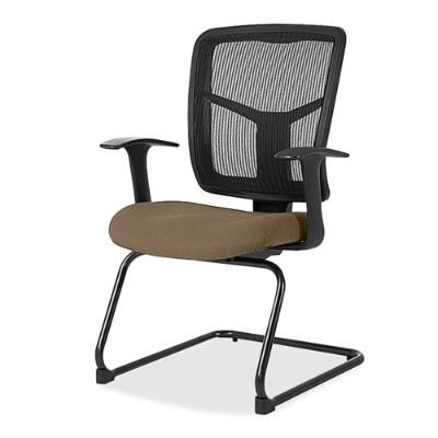 Lorell 86202-06 86000 Series Mesh Side Arm Guest Chair