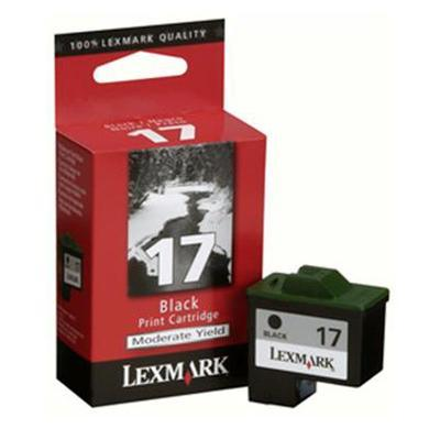 #17 Moderate Use Black Print Cartridge