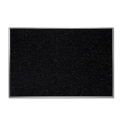 Ghent ATR23-CF 36W x 24H Recycled Rubber Bulletin Board - Confetti