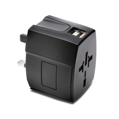 Kensington 33998 International Travel Adapter Dual 2.4A USB