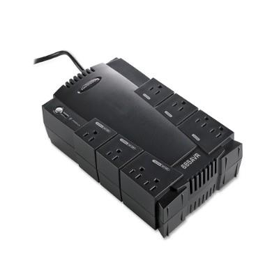Compucessory 25652 AVR 8-Outlet UPS Backup System