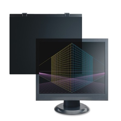 Compucessory 20505 17 Tempered Glass Anti-Glare Filters - Black