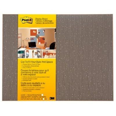 3M 558F-MCH Display Board  Cut-to-Fit Mocha 18 in x 23 in