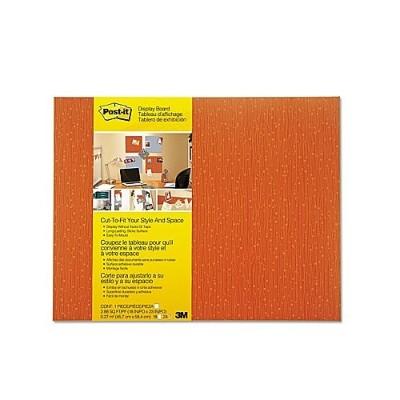 3M 558F-TNG Self-Stick Bulletin Board  Cut-to-Fit Tangelo 18 in x 23 in
