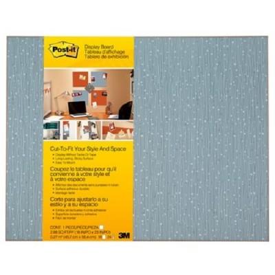 3M 558F-ICE Self-Stick Bulletin Board  Cut-to-Fit Ice 18 in x 23 in