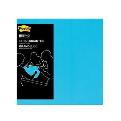 3M BP22B Big Pads Electric Blue 22 in x 22 in 30 sheets