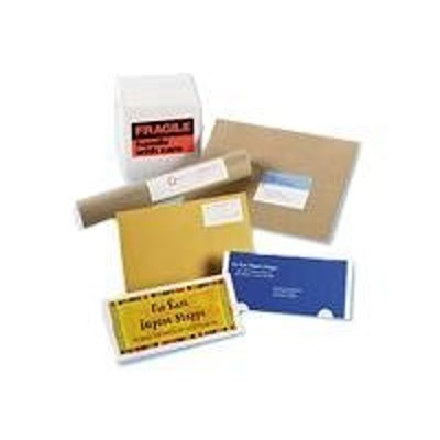 Avery Dennison 05283 Fragile Labels - Labels - self-adhesive - neon red - 40 pcs.