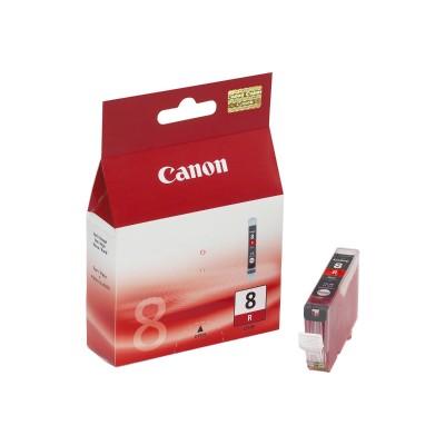 Canon CLI-8R CLI-8R - Red - original - ink tank - for PIXMA Pro9000  Pro9000 Mark II