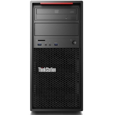 Lenovo 30B3004UUS ThinkStation P410 30B3 Intel Xeon Quad-Core E5-1620 v4 3.50GHz Workstation - 16GB RAM  256GB PCIe SSD  DVD Burner  Gigabit Ethernet