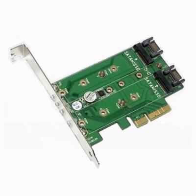 Addonics AD3M2SPX4 M2 PCIe SSD Adapter PRO