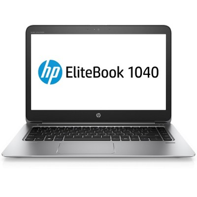 HP Inc. 1BS28UT#ABA Smart Buy EliteBook 1040 G3 Intel Core i7-6600U Dual-Core 2.60GHz Notebook PC - 8GB RAM  250GB SSD  14 FHD LED  802.11a/b/g/n/ac  Bluetooth