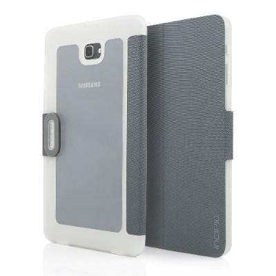 Incipio SA-800-GFT Clarion Shock Absorbing Translucent Folio for Samsung Galaxy Tab A 10.1 (2016) - Gray/Frost