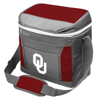 Rawlings 04113045111 NCAA 16-Can Soft-Sided Cooler - Oklahoma
