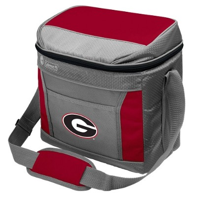 Rawlings 04113073111 NCAA 16-Can Soft-Sided Cooler - Georgia