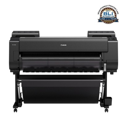 Canon 1123C005AA imagePROGRAF PRO-4000S 44 Professional Production Signage Large-Format Inkjet Printer with Multifunction Roll System