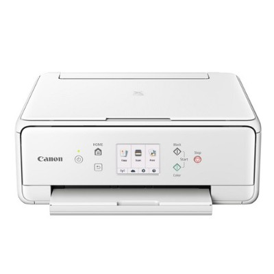 Canon 1368C022 PIXMA TS6020 Wireless Inkjet All-In-One Printer - White