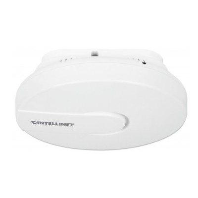 Intellinet Network Solutions 525800 High-Power Ceiling Mount Wireless 300N PoE Access Point