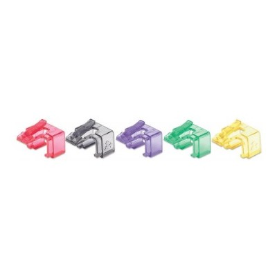 Intellinet Network Solutions 771450 Repair Clip for RJ45 Modular Plug  50 pk (Transparent Mixed)