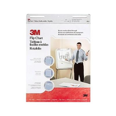 3M 570 Flip Chart  25 in x 30 in 40 shts per pad
