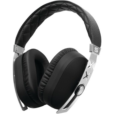 Soul by Ludacris 81970456 Jet Pro Headphones with Microphone (Deluxe Silver Edition)