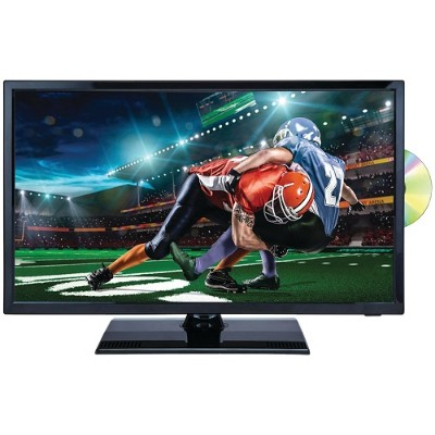"""Naxa Electronics NTD-2255 22"""" 1080p LED TV/DVD/Media Player Combination with Car Package"""