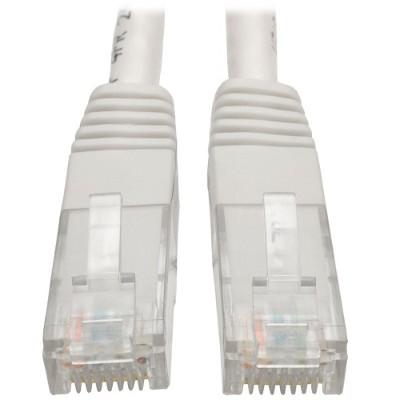 TrippLite N200-005-WH Cat6 Gigabit Molded Patch Cable (RJ45 M/M) - White  5 ft.