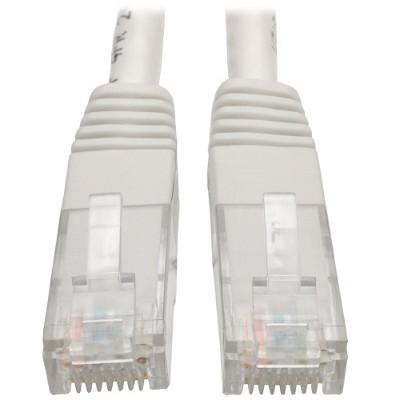 TrippLite N200-007-WH Cat6 Gigabit Molded Patch Cable (RJ45 M/M) - White  7 ft.