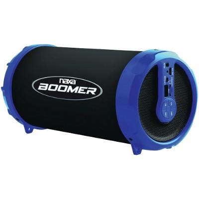 Naxa Electronics NAS-3071 BLUE BOOMER Portable Bluetooth Speaker - Blue