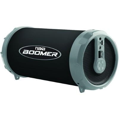 Naxa Electronics NAS-3071 GRAY BOOMER Portable Bluetooth Speaker - Gray