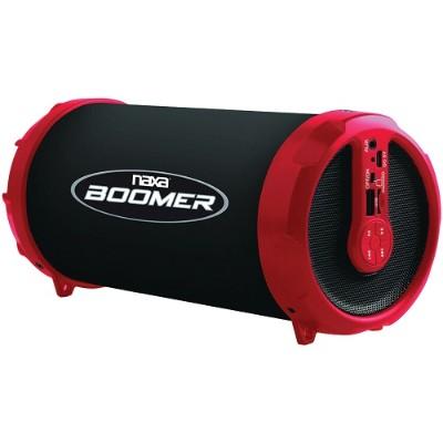 Naxa Electronics NAS-3071 RED BOOMER Portable Bluetooth Speaker - Red
