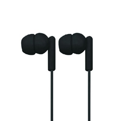 Naxa Electronics NE-938 BLACK SPARK Isolation Stereo In-Ear Earbuds - Black