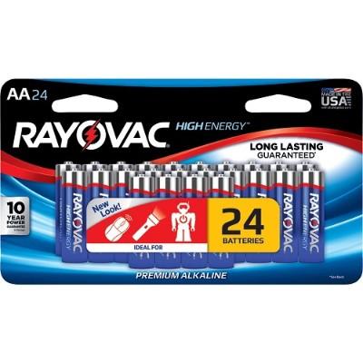 Rayovac 815-24LTJ AA Alkaline Batteries (24 pk)