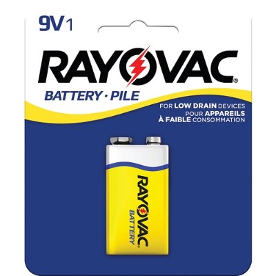 Rayovac D1604-1F Heavy-Duty 9-Volt Battery