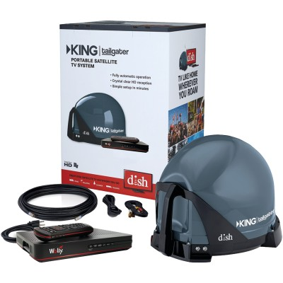King Controls VQ4550 Tailgater Bundle with DISH HD Receiver