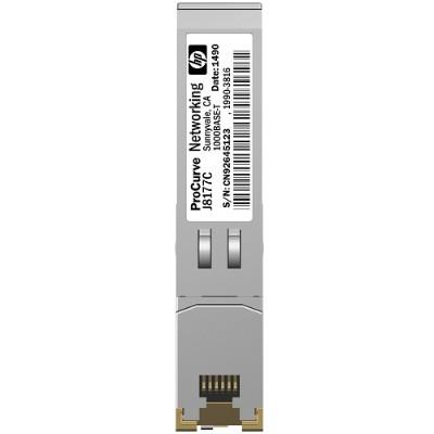 Hewlett Packard Enterprise J8177C-OB X121 1G SFP RJ45 T Transceiver (Open Box Product  Limited Availability  No Back Orders)