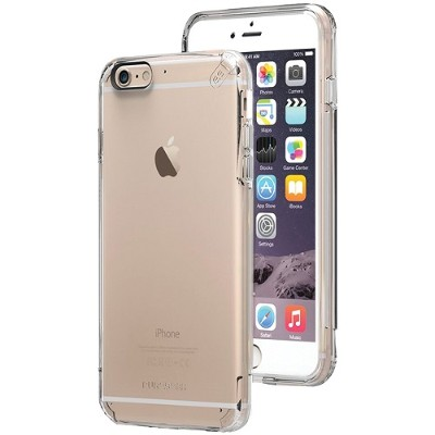 PureGear 11065VRP iPhone 6 Plus/6s Plus Slim Shell PRO Case (Clear/Clear)