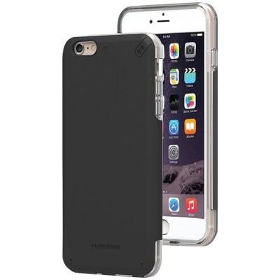 PureGear 11073VRP iPhone 6 Plus/6s Plus DualTek PRO Case (Black/Clear)