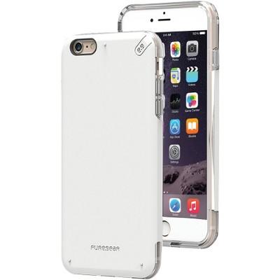 PureGear 11074VRP iPhone 6 Plus/6s Plus DualTek PRO Case (White/Clear)