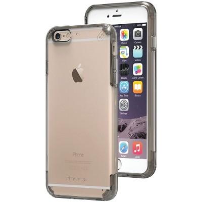 PureGear 11199VRP iPhone 6 Plus/6s Plus Slim Shell PRO Case (Clear/Light Gray)