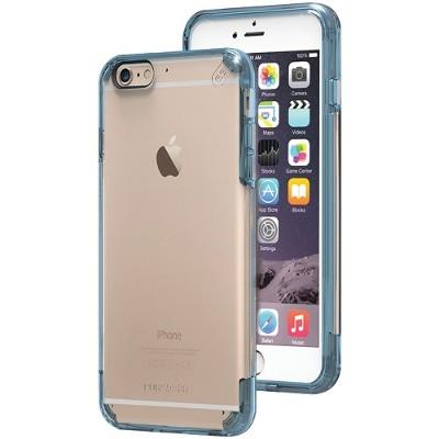 PureGear 11201VRP iPhone 6 Plus/6s Plus Slim Shell PRO Case (Clear/Blue)