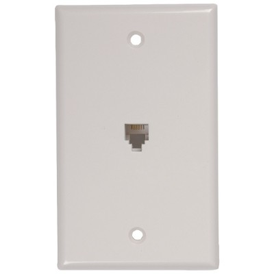 RCA TP247WHR Phone Jack Wall Plate
