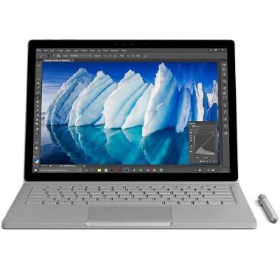 Microsoft FGL-00001 Surface Book Intel Core i7-6600U Dual-Core 2.60GHz Commercial Laptop - 16GB RAM  512GB SSD  13.5 PixelSense Touchscreen  802.11ac + Bluetoot