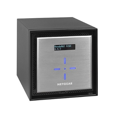 NetGear RN524XE3-100NES ReadyNAS 524X 4-bay Network Attached Storage 4X3TB Enterprise