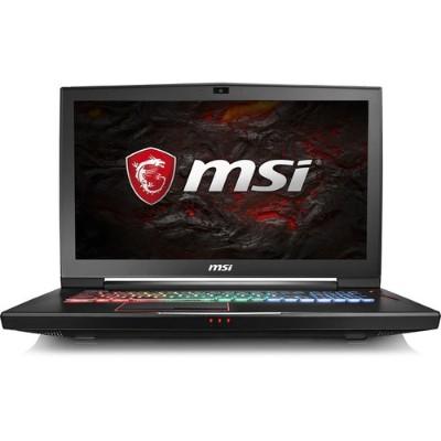 MSI GT73VR4K479 GT73VR Titan Pro 4K-479 Intel Core i7-7820HK Quad-Core 2.90GHz Gaming Laptop - 16GB RAM  256GB SSD + 1TB HDD  17.3 UHD 4K IPS  Gigabit Ethernet