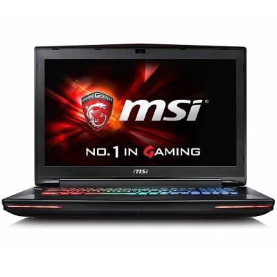 MSI GT72VR448 GT72VR Dominator Pro-448 Intel Core i7-7700HQ Quad-Core 2.80GHz Gaming Laptop - 16GB RAM  256GB SSD + 1TB HDD  17.3 FHD  DVD SuperMulti  Gigabit E