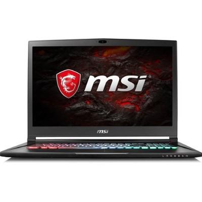 MSI GS73VR4K223 GS73VR Stealth Pro 4K-223 Intel Core i7-7700HQ Quad-Core 2.80GHz Gaming Laptop - 16GB RAM  512GB SSD + 2TB HDD  17.3 UHD 4K eDP IPS  Gigabit Eth