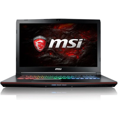 MSI GE72VR418 GE72VR Apache Pro-418 Intel Core i7-7700HQ Quad-Core 2.80GHz Gaming Laptop - 16GB RAM  1TB HDD  17.3 FHD WVA  DVD Super Multi  Gigabit Ethernet  8